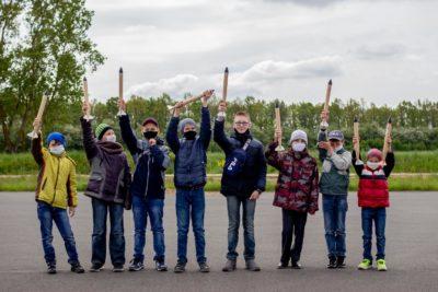 Старты юных ракетчиков